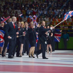 Open Ceremony WorldSkills Sao Paulo 2015- Team UK