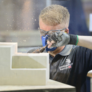 Day 2 WorldSkills | TeamUK competitor's shipments of Brazilian plaster and months of training in attempt for gold