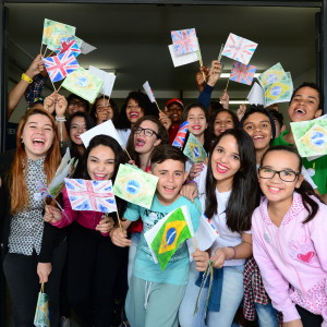 Singing, dancing and an ambassador's welcome mark Team UK visit to Sao Paulo schoolchildren