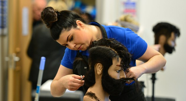 Will hairdresser Eleni weave her way from EuroSkills silver to WorldSkills gold?