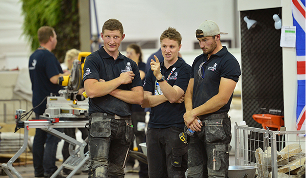 Landscape gardener Matthew Beesley pays WorldSkills credit to mum and dad