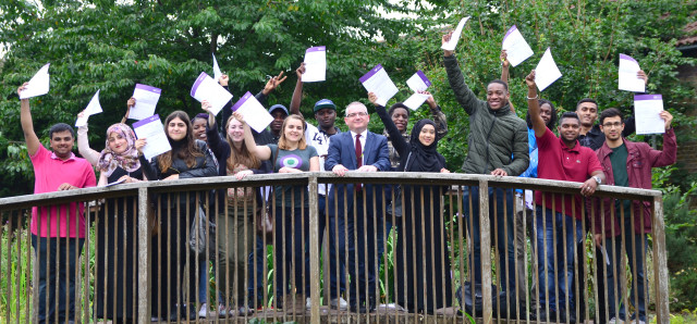 Results Day 2015 - bridge photo