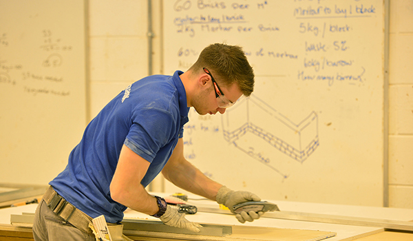 Robert Johnson- Plastering and Dry Wall Systems at Team UK Selection 2015, WorldSkills Sao Paulo 2015