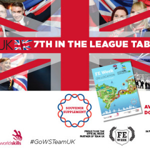 TeamUK comes in at seventh place at WorldSkills 2015