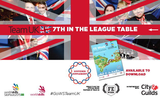 Team UK comes in at seventh place at WorldSkills 2015