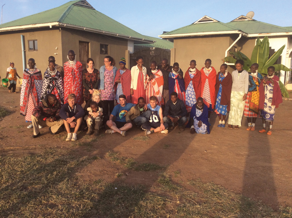 Reality check as City College Brighton and Hove learners see real poverty in Tanzania