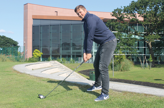Golfer Lewis jets off for US scholarship thanks to college coaching