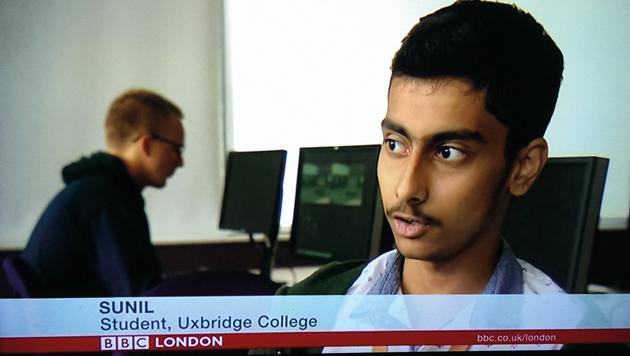 Learner Sunil makes headlines