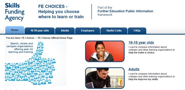 FE Choices website set to close after three-and-a-half years
