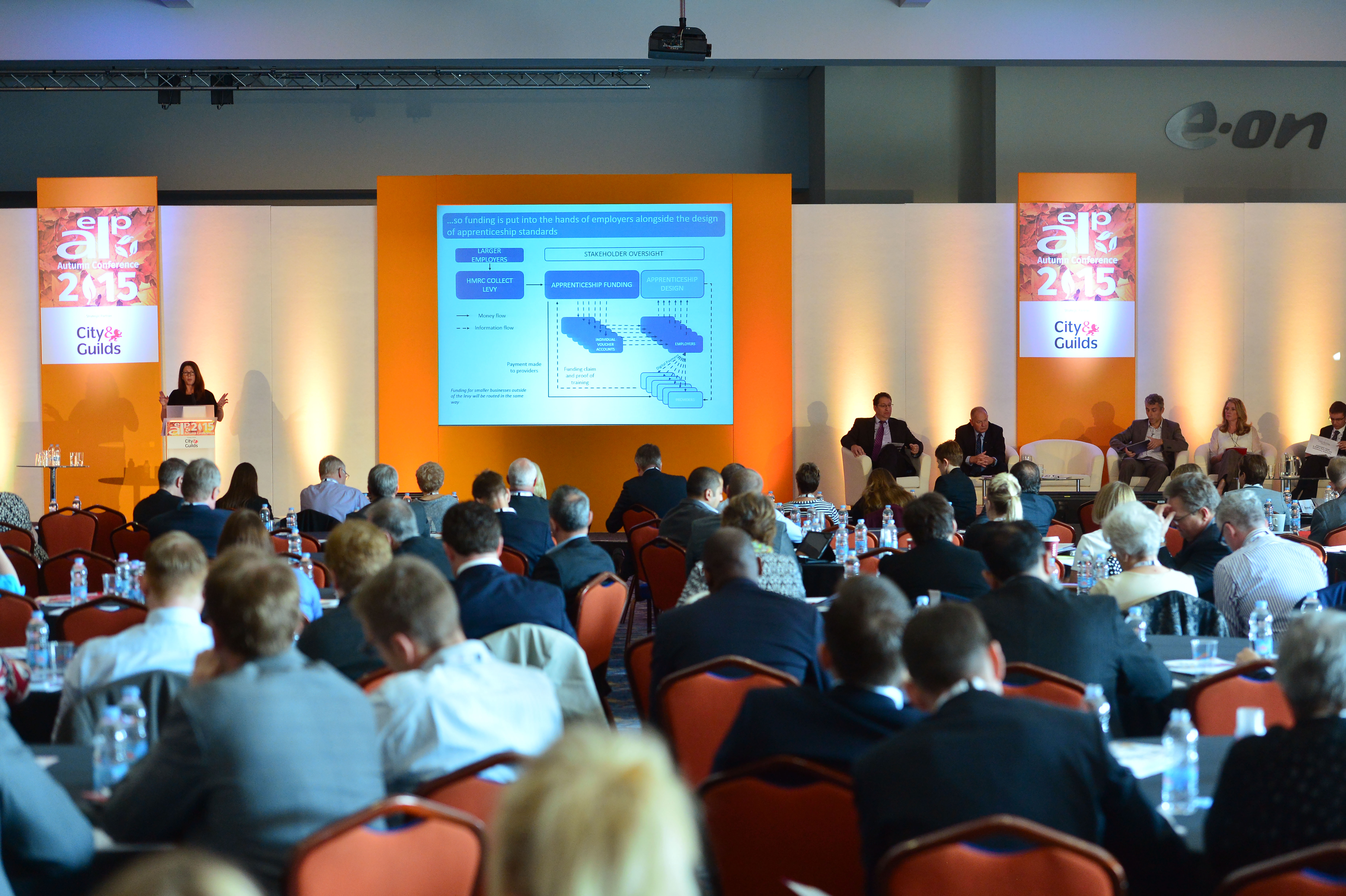 Audience at the AELP Autumn Conference 2015
