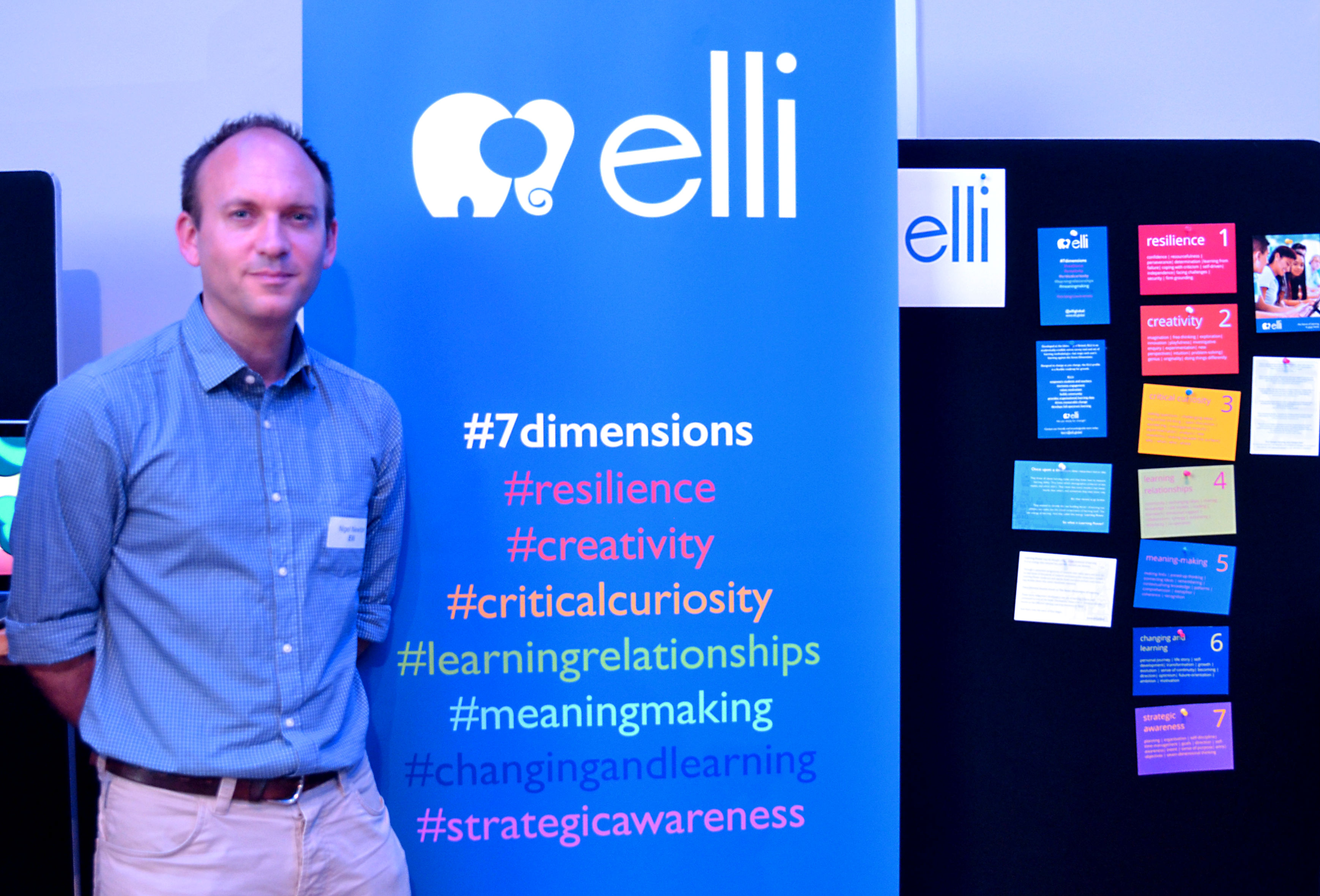Nigel Newton, project director for Elli Global