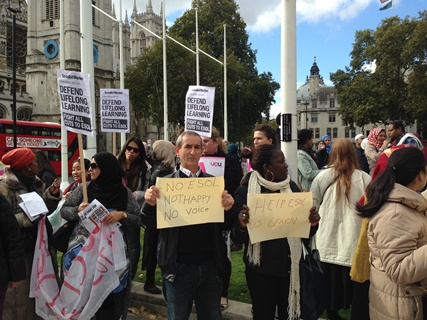 UCU London region to hold Downing Street protest in defence of Esol