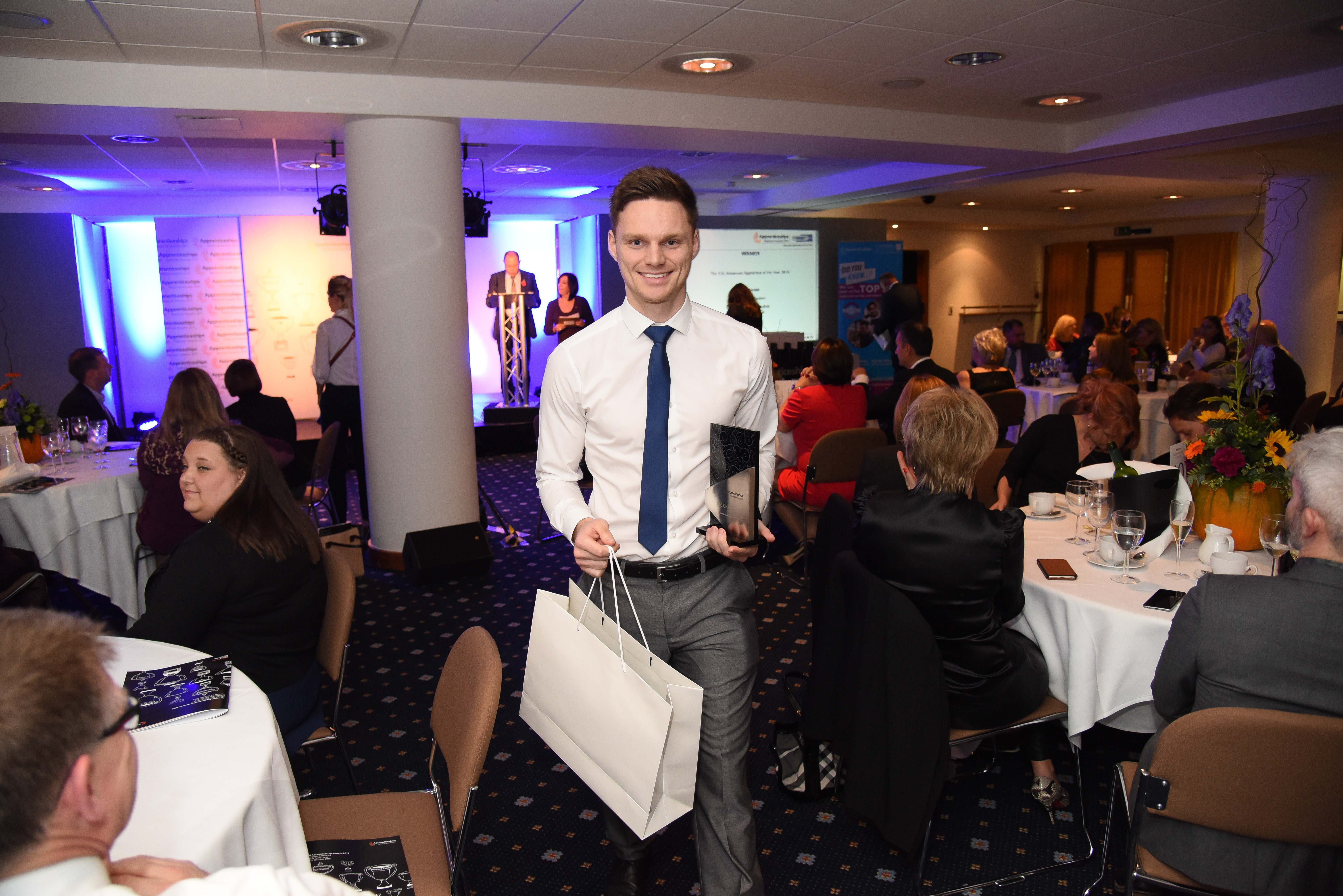 EAL Advanced Apprentice of the Year award winner for the East of England, Daniel Swain
