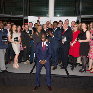All of the London award winners and highly commended in the City Hall, October 14