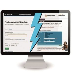 New and old apprenticeship vacancy websites