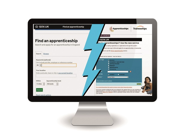 Two official apprenticeship vacancy websites still live