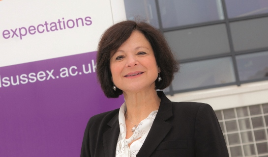 Sarah Wright, principal of Central Sussex College