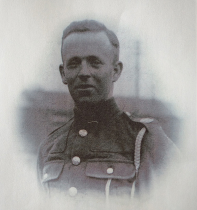 Cragg's father, Thomas Cragg, pictured at the end of the First World War