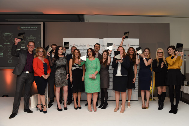 The winners at the Greater Manchester, Cheshire and Staffordshire awards ceremony