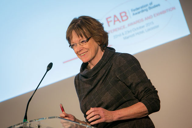 Ofqual chief explains 'transparent' audit system for new Regulated Qualifications Framework to FAB conference