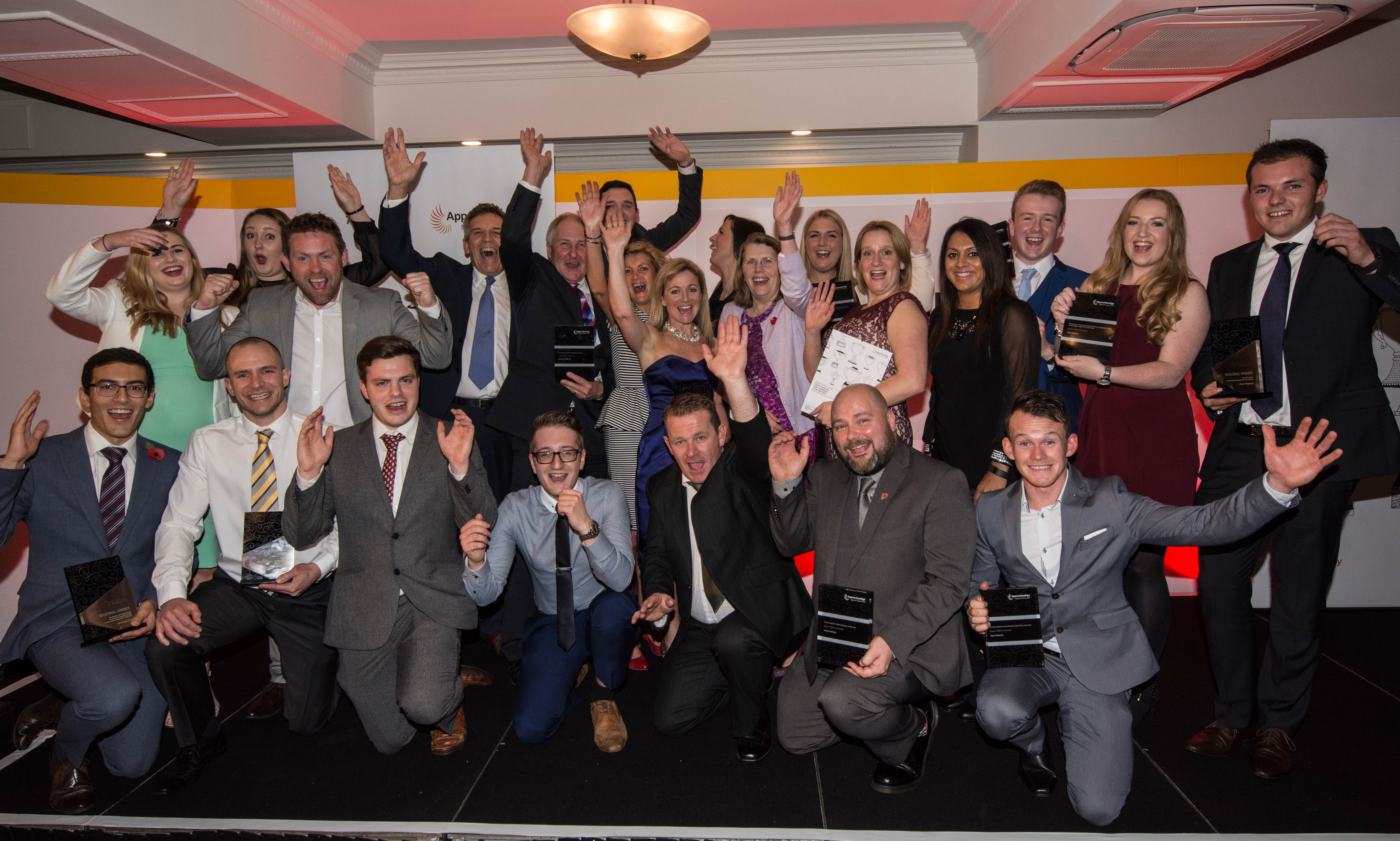All the winners and highly commended entries at the East Midlands awards ceremony