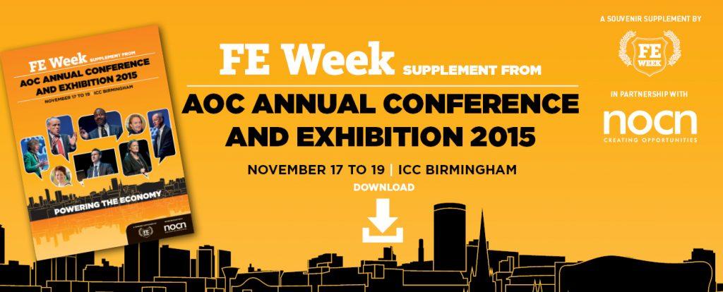 AoC Annual Conference 2015