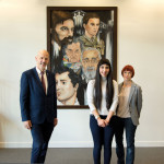 Young artist's icons on show