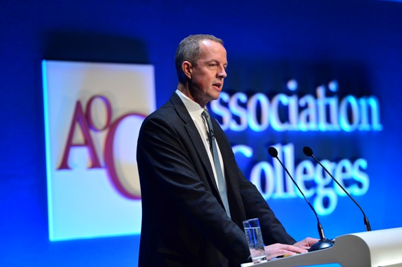 Don't let private training providers 'steal your lunch', Skills Minister Nick Boles tells college leaders