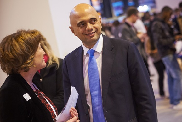 High profile visit for Skills Show as Business Secretary Sajid Javid drops in on day one