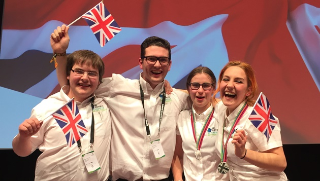 More than 100 young people one step closer to WorldSkills Abu Dhabi 2017 after qualifying for UK squad