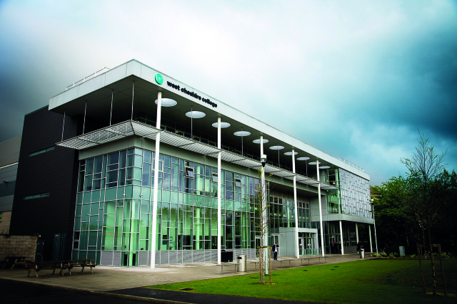 West Cheshire College Chester Campus. Prospectus photos.