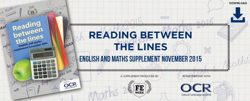 English and maths supplement 2015