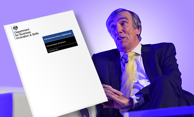 FE Commissioner's annual report: top five areas for improvement
