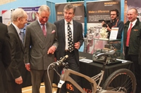 Prince Charles visits the Stroud Festival of Manufacturing founded by Neil