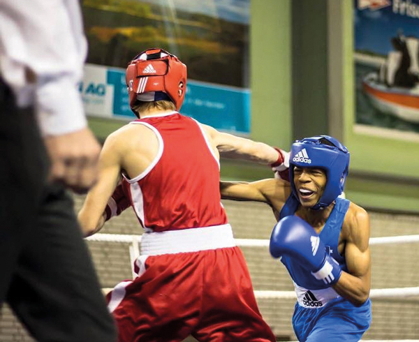 Gloves are off for boxer Shiloh
