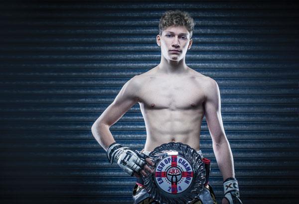 Fast learner is world kickboxing medalist