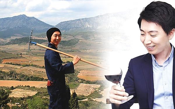 College vineyard ships to South Korea