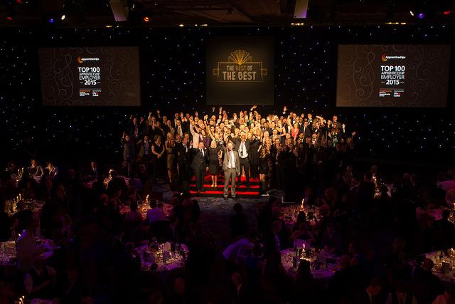 National Apprenticeship Awards ceremony celebrates 2015 winners