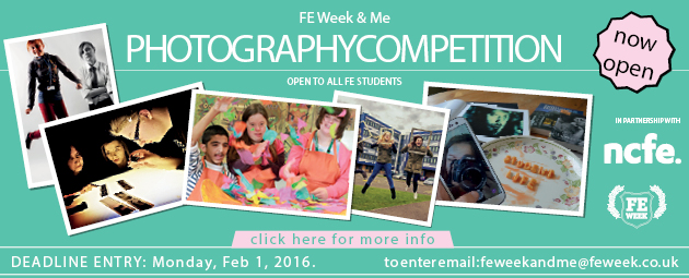 FE Week and Me student photography competition - deadline extended