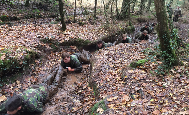 Learners up to marine challenge