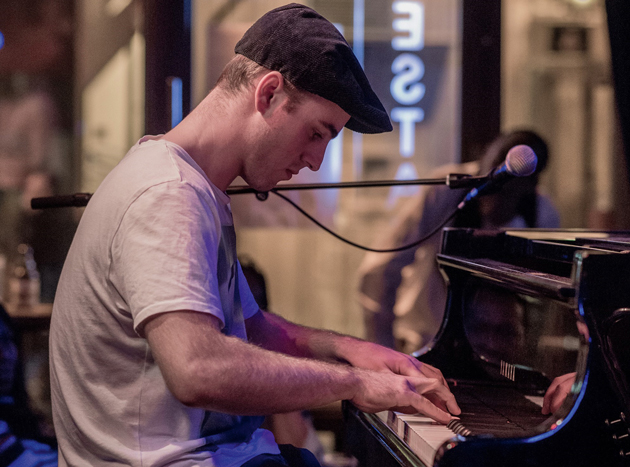 Young jazz musician finalist