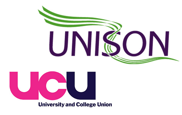 Around 200 colleges hit with joint UCU and Unison strike