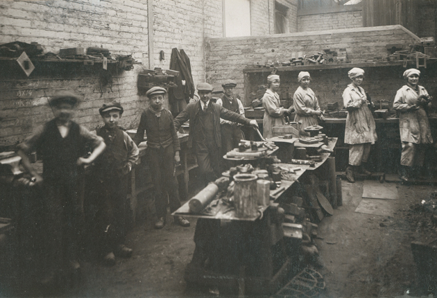 Apprenticeship-100-3---Wallsend-Slipway-Photograph-of-the-Brass-Foundry-Department-1914web