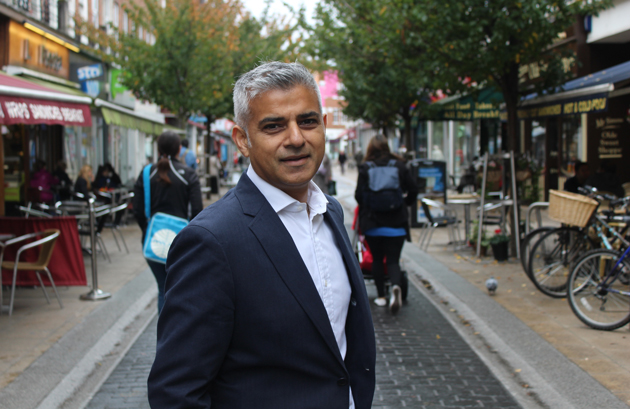 London mayor Sadiq Khan calls for government rethink on apprenticeship funding rates