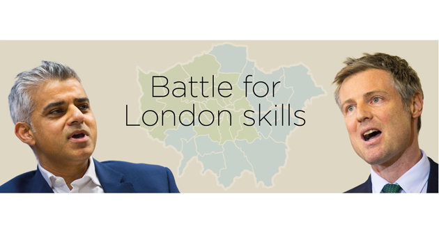London colleges in spotlight as two top mayoral candidates battle for budget