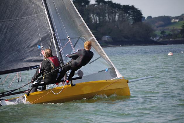 Plain sailing for new racing boat
