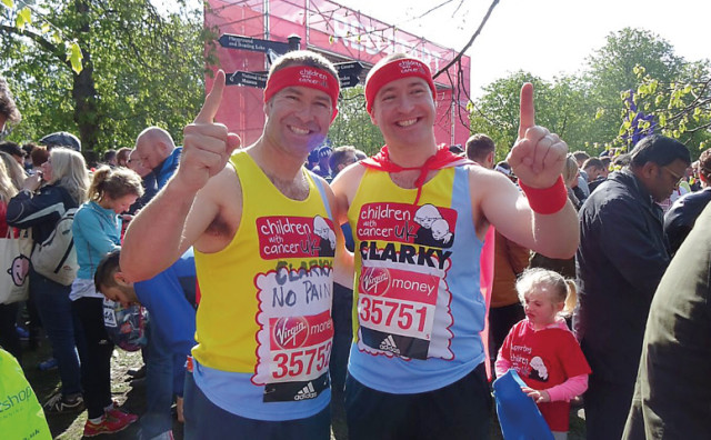Featured: Marathon effort for caped crusaders
