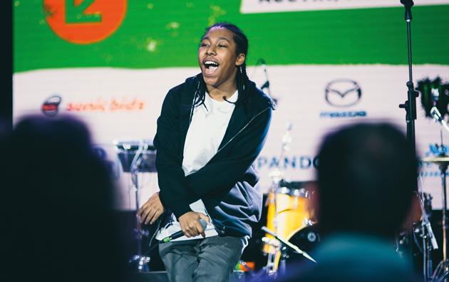 Jamal hits right notes at Radio1Xtra showcase