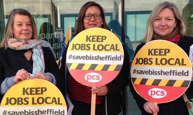 PCS ballots for strike action over Sheffield BIS office closure plans