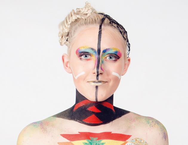 Theatrical make-up winner